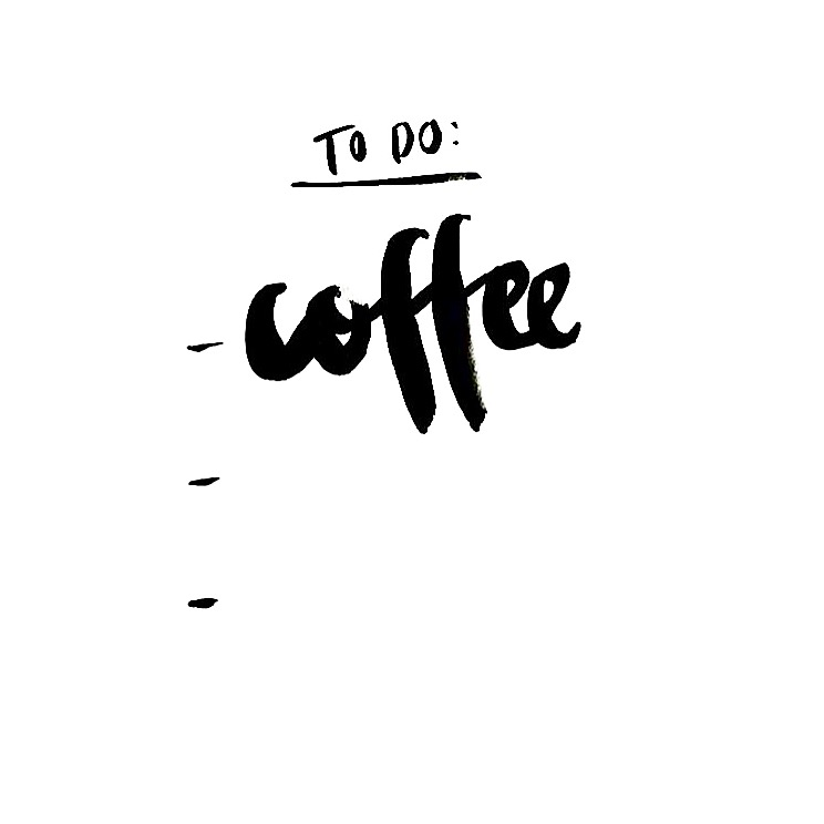 to do liste coffee